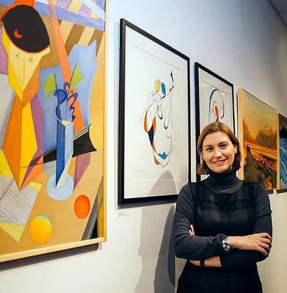 Elena Seroff (Iosilevich), USA