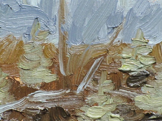 Painting: I Wish You Were Here, Untitled #27, 2011 (detail). Oil on canvas.
