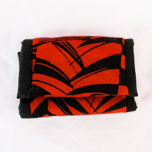 Essential Oil Travel Pack - Red/Black Print