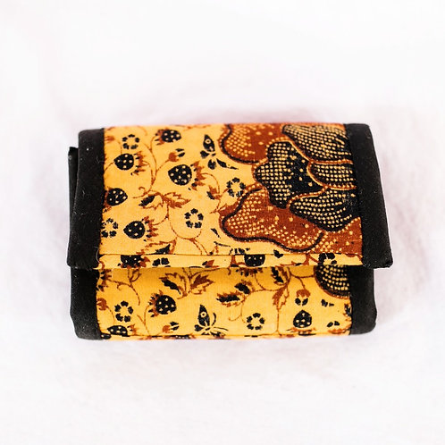 Essential Oil Travel Pack - African Print: Gold/Rust/Black