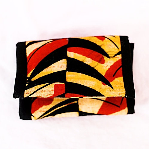 Essential Oil Travel Pack - African Print: Red/Black/Gold