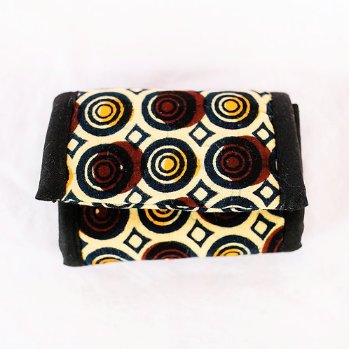 Essential Oil Travel Pack - African Print: Cirlces