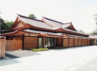 鹿島神宮社務所祈祷殿
