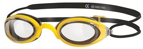 Zoggs Fusion Air Yellow/Clear Lens