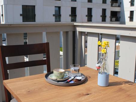 Terrassen-Eröffnung mit Aktion