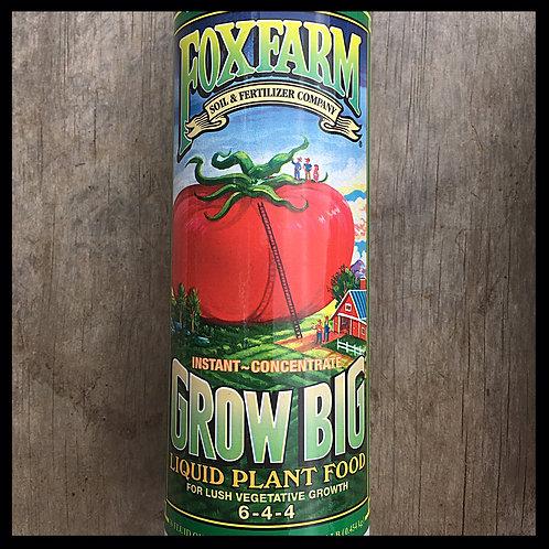 Fox Farm Grow Big Liquid Plant Food Concentrate