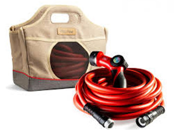 Italian design Fitt Flow 60' hose, nozzle, bag