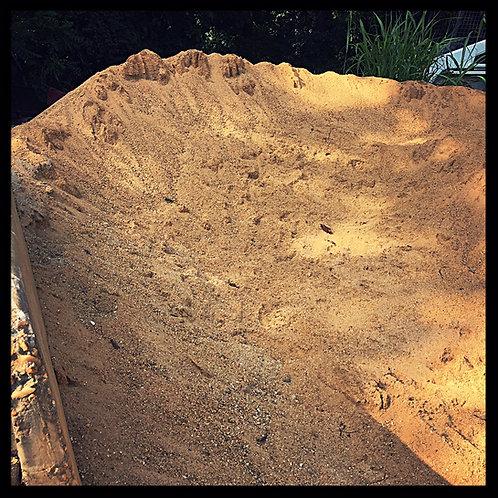 Bulk Sand 3/4 cubic yard