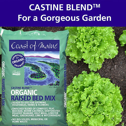 Castine Blend...Organic Raised Bed Mix