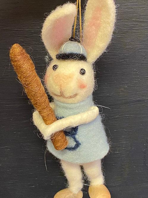 baseball bunny