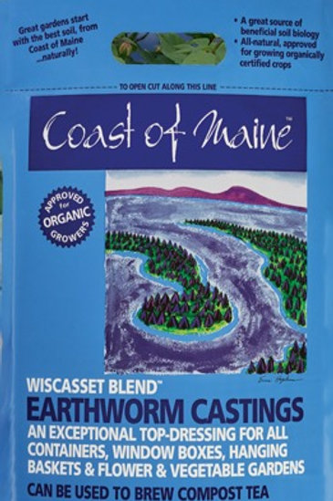 8 qt Wiscasset Blend...Earthworm Castings