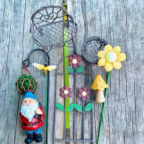 Fairy Garden Kit: Norman Gnome's Night Garden