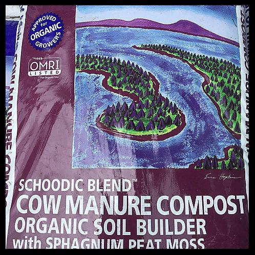 1cf Schoodic Blend...Cow Manure Compost