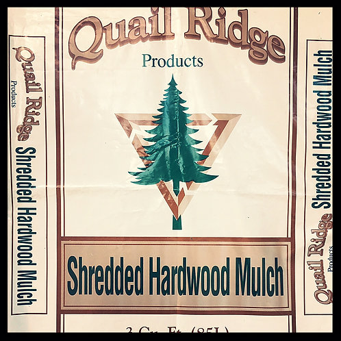 Hardwood Mulch 3 cubic foot bag