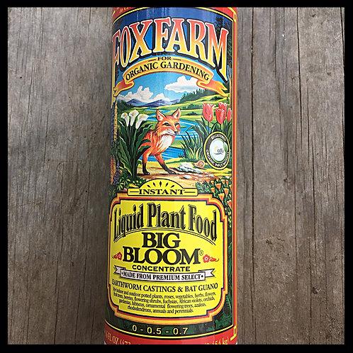 Fox Farm Big Bloom Liquid Plant Food Concentrate