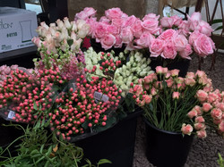 fresh delivery of cut flowers