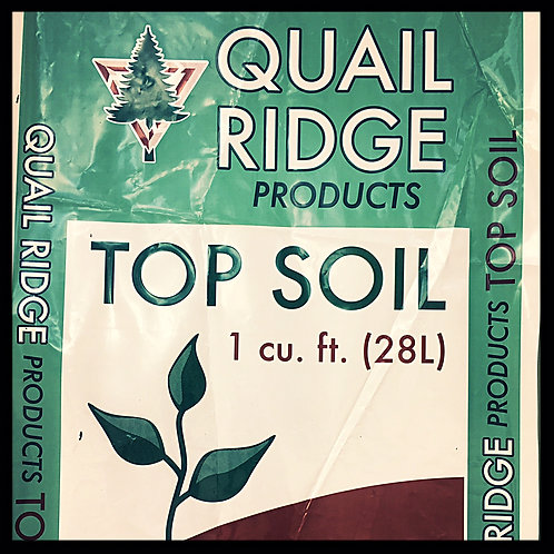 Premium Topsoil...1 cubic foot bag
