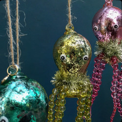 octopus ornaments...of course!