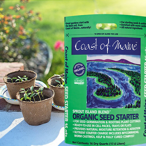 Sprout Island...Organic Seed Starter