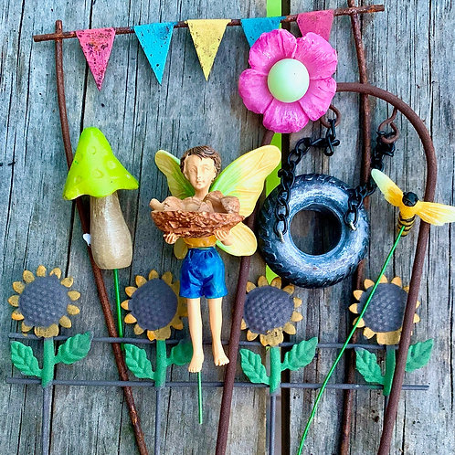 Fairy Garden Kit: Marvin the Mushroom Man