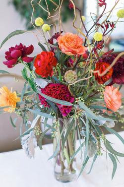 close up of arrangement