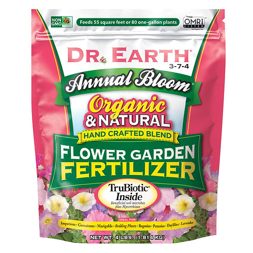 Dr Earth Annual Bloom