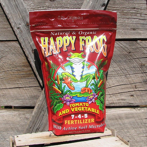 Happy Frog Tomato & Vegetable Fertilizer