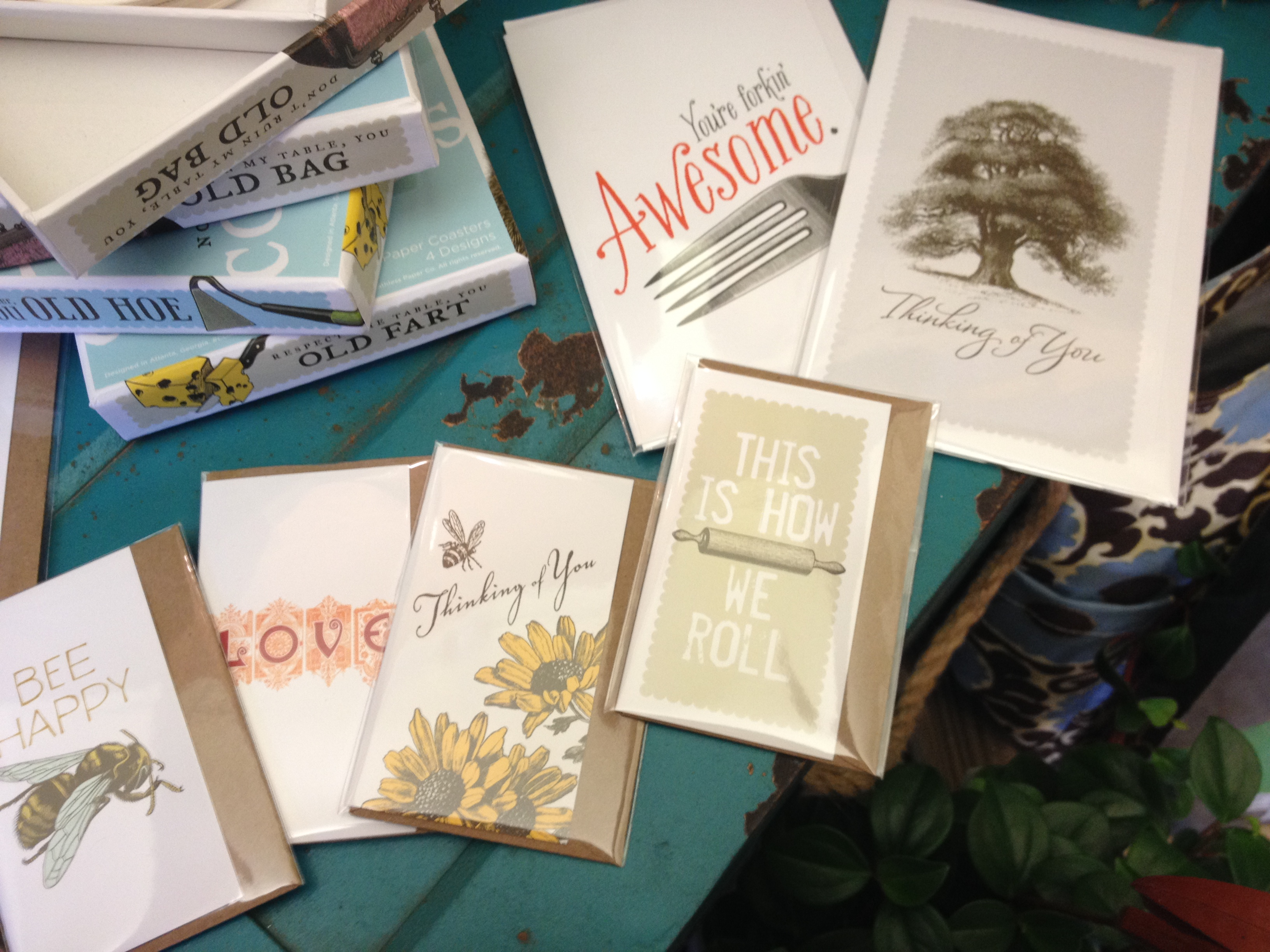 cards by breathless paper co.