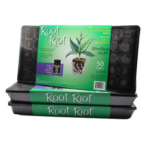 HDI Root Riot® Plant Starter Cubes - 50 Tray