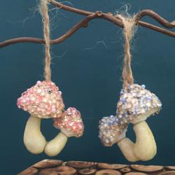 sparkly mushrooms