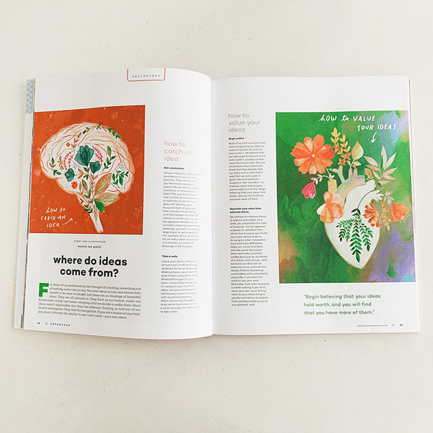 UPPERCASE MAGAZINE: Where Do Ideas Come From?