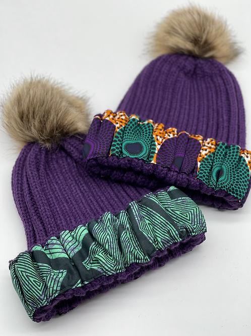 Purp Cozy Crown Cap
