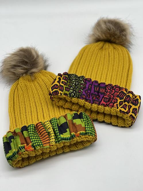 Mustard Cozy Crown Cap