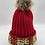Thumbnail: Red Cozy Crown Cap