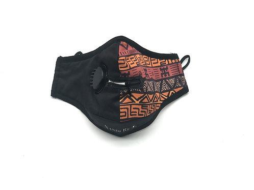 """Mudcloth """"Zip Ya Lip"""" N95 Washable Face Mask"""
