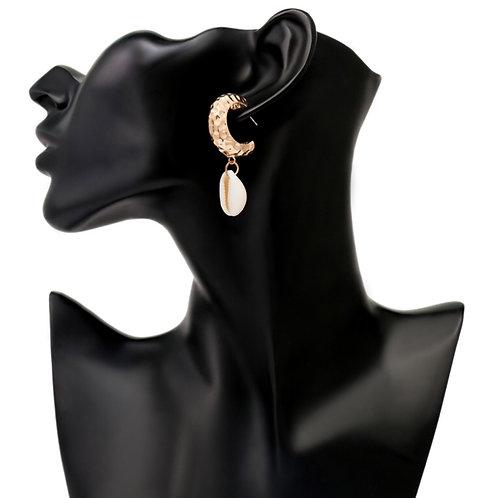 Covenant Cowrie Earrings