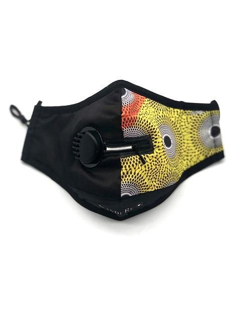 "Circles ""Zip Ya Lip"" N95 Washable Face Mask"