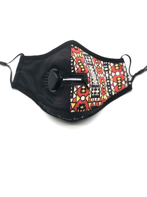"""Samakaka """"Zip Ya Lip"""" N95 Washable Face Mask"""