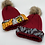 Thumbnail: Burgundy Cozy Crown Cap