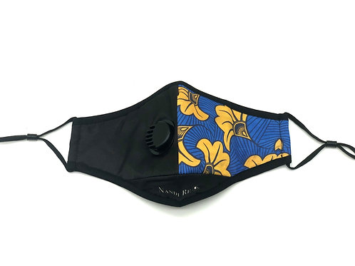 Blue & Yellow Fans N95 Washable Face Mask