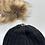Thumbnail: Blk Cozy Crown Cap