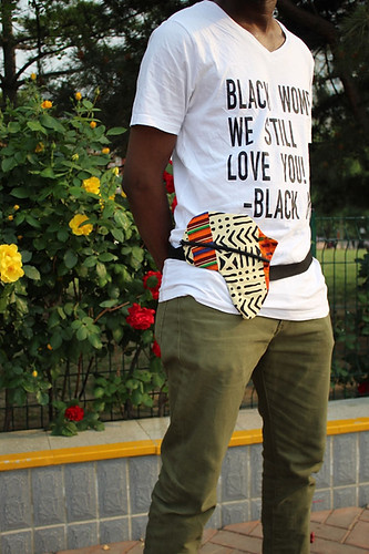 Africa Fanny Pack