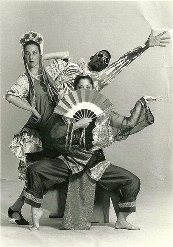 Rhythm, 1991 Eileen, Derric, Kriota phot