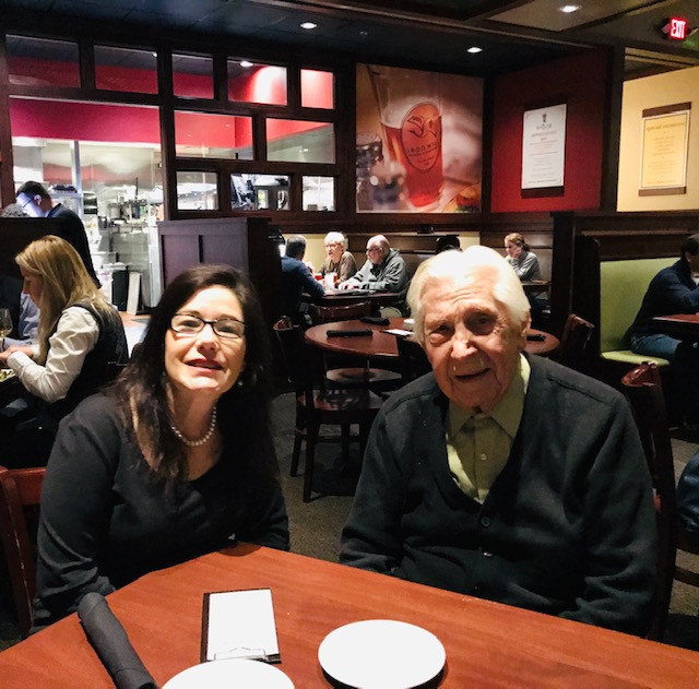 Henry an ana at lunch.jpg