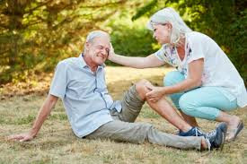 High Risk of Falls in Elderly Due to Balance Issues