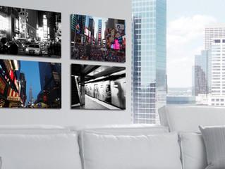 Canvas o Forex: scegli il quadro che arreda meglio casa e negozio