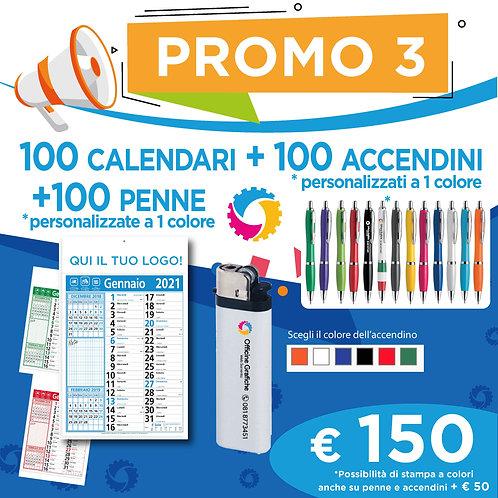 Promo 3 - Calendari, Accendini e Penne