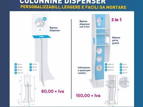 Colonnine Porta Dispenser