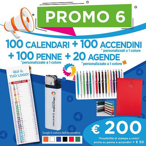 Promo 6 - Calendari, Penne, Agende e Accendini