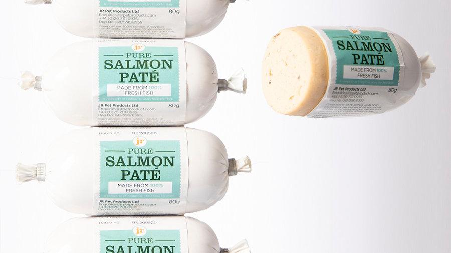 JR Pure Salmon Pate 80g